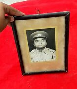 Vintage B And W Photograph Of Policeman In Uniform Collectible / Decorative