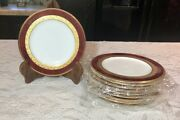 Gorgeous Set Of 10 Noritake Hemingway Bread And Butter Plate 4733