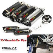 38-51mm Universal Exhaust Pipe Muffler Tips Vent Pipe For Motorcycle Dirt Bike