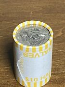 Unsearched Kennedy Half Dollar One 1 Roll 90 Or 40 Silver Coins Are Possible