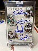 Honors Buy Back Rc King Derrick Henry Drake Rookie Quads 1/1 Auto 2016 Sealed