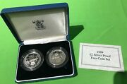 Simply Coins 1989 Silver Proof Claim Of Rights And Bill Of Rights Coa Boxed