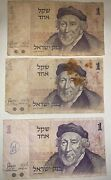 Lot Of 30 Old Israeli Paper Notes Israel Old Money Collection
