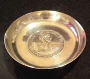 Of Wales Investiture 1969. Mappin And Webb Sterling Silver Soap Dish. Rare