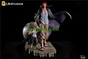Lb Studio Lbs One Piece King Red Hair Shanks Gk Collector Resin Painted Statue