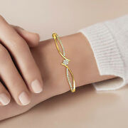 Solid Gold And Natural Diamond Bracelets