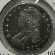 1819 Capped Bust Half Dollar Large 9 19/18 O-106