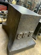 Very Rare English 1920and039s Saw Makers Block Anvil 233 Lbs Anvil Will Ship