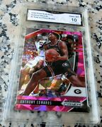 Anthony Edwards 2020 Prizm Pink Ice 1 Draft Pick Sp Rookie Card Rc Gem Mint 10
