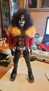 Kiss Eric Carr '80 Unmasked 1/6 Figure Scale Custom Crafted Replica Doll