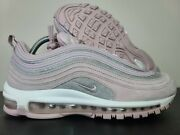 Nike Air Max 97 Particle Rose Sparkle Glitter Flow Pack At0071-600 Sz 9.5 Rare