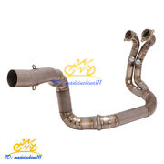 Motorcycle Exhaust Pipe Titanium Alloy Connect Tube Modified For 790 Adventure