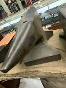 Very Rare German 1920and039s Anvil Marked 110kg 242 Lbs Anvil Will Ship