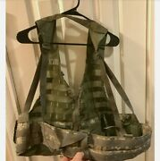 Us Army Digital Camouflage Molle Military Tactical Load Bearing Vest Lbv