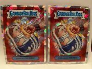 Creamed Keith And Punchy Perry Garbage Pail Kids Gpk Chrome Atomic Refractor Set 2