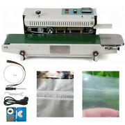 Fr 900 Commercial Automatic Continuous Sealing Machine Horizontal Bag Sealing