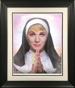 99 Problems Julie Andrews By Jj Adams. Framed New, In Stock With Coa.