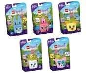 Lego Friends Play Cube Pet Series - Set Of 5 - 41662 41663 41664 41665 41666