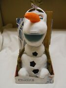🔥 Olaf Disneyand039s Frozen 2 Spring And Surprise Plush Pop Up Talks Talking New Doll
