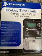 Intermatic Et90115ce 365-day Time Switch 1 Circuit Energy Control Timer New