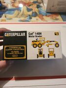 Classic Collection 140h Motor Grader Limited Edition Model In Original Box H2