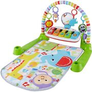 Fisher-price Deluxe Kick And Play Removable Piano Gym, Green