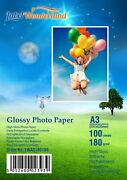 High Glossy Photo Paper 180gsm Premium Quality All Sizes Wholesale By Lw
