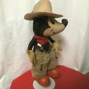 """1930's Knickerbocker """"two Gun"""" Mickey Mouse, Good Condition As Shown In Photos"""