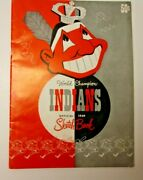 1949 Cleveland Indians Official Yearbook Mlb Baseball Good Shape Cool And Rare