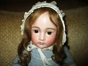 23 Beautiful Early Kestner Pouty Doll With Great 8 Ball Body