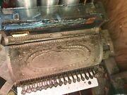 Antique National Cash Register Ornate Embossed Brass Very Attractive Needs Clean