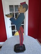 Vintage 1920/30and039s Era Hotel Lobby Bellhop Cigarette Stand Ashtray