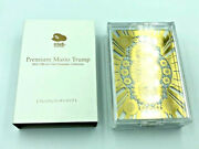 Club Nintendo Premium Mario Trump Playing Cards 2012 Gold And Clear Poker Promo