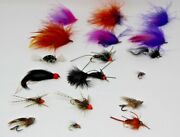 Lot Of 18 Steelhead And Salmon Fly Fishing Flies Brand New Assorted Free Shipping