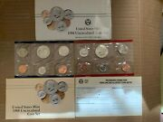 1988 U.s. Mint Uncirculated Coin Set In Ogp. Will Combine Wins = Lower Shipping