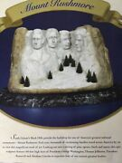 Dept 56andreg American Pride Collection Mount Rushmore - Brand New Still In Plastic