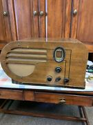 Vintage 1930s Philco 610 Tube Radio Tested With Power Stepper