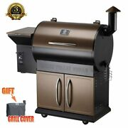 Z Grill Wood Pellet Fired Smoker Grill Outdoor Bbq Grills Outside Camp Grilling
