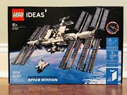New In Sealed Box Lego Ideas 21321 International Space Station Free Shipping