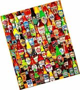 White Mountain Puzzles 99 Bottles Of Beer On The Wall - 1000 Piece Jigsaw Puz...