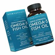 Omega 3 Fish Oil - Omega 3 Supplement With Essential Fatty Acid Combination O...