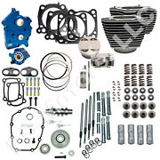 Sands Cycle 128 Engine Kit For 2017+ Milwaukee-eight M8 114 Motor - Gear Drive