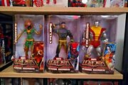 Marvel Legends Icons Series Jean Grey, Cyclops And Colossus Action Figures Sealed
