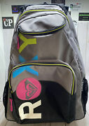 Roxy Backpack With Wheels And Handle Rn114199 Style K446b95 4-11 Skater Skating