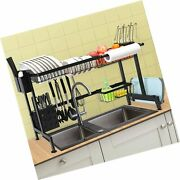 Chasstoo Over The Sink Dish Drying Rack Above Sink Kitchen Drain Drainage Ra...