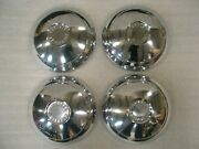 1961 Corvair Dogdish Oem Hubcaps Set Of 4