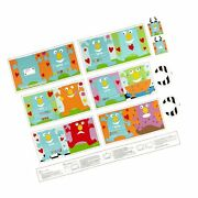 Huggable And Lovable 6 36'' Little Monster Book Panel Multi Quilt Fabric