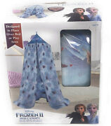 Disney Frozen 2 Bed Canopy Tent Princess Elsa Anna Olaf Playhouse Kids Toy Gift