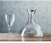 Glass Whiskey Liquor Decanter Wine Decanter Lead-free Crystal Glass 1800ml Glass