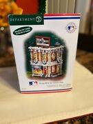 Dept 56 Christmas In The City, Chicago White Sox Souvenir Shop, New In Box